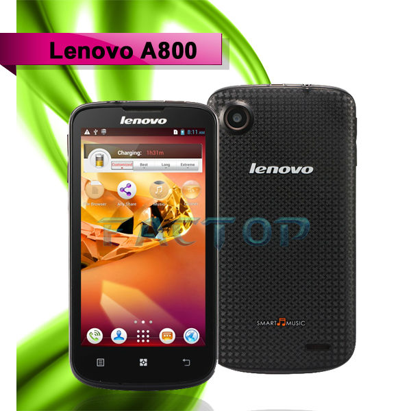 Lenovo a800 mtk6577 4.5inch HD dual core mtk6577 android4.0