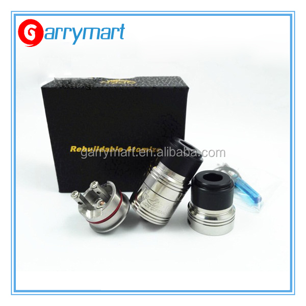 New Arrival Fuel rda vaporizer coming with HEX Contact Screws, stainless steel body construction make you handle it well