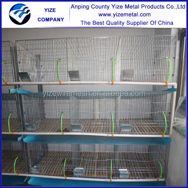 China factory wholesale build aluminum rabbit cage in kenya farm