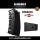 DB-208 line array/mini line array speaker/compact line array system