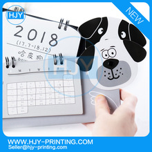 China cheap wholesale custom table calendar printing / wall calendar / desk calendar for advertising/two years calendar2017-2018