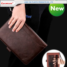 Book style Leathe Flip Pouch Smart Tablet Cases For Huawei MediaPad 7,X2 ,10 Inch Tablet Case With Lanyard