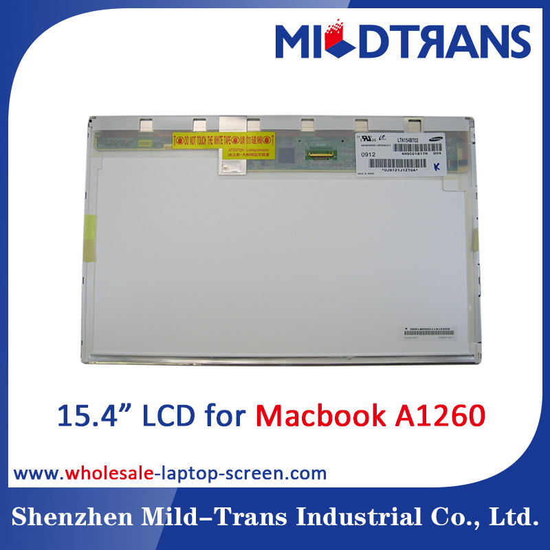 "15.4"" laptop lcd screen For Macbook Pro A1260 replacement parts panel"
