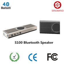 Mini Portable Bluetooth Speaker, Alloy Steel Housing, Powerful Loud and Clear Sound with Bass, Reads Music From TF Cards