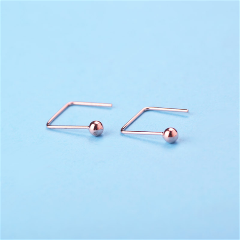 Wholesale <strong>U</strong> shaped 925 sterling silver drop earring