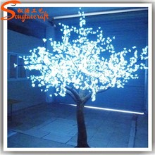 factory cheap led light up cherry blossom tree outdoor lighted pink flower blossom sakura trees outdoor wedding decoration