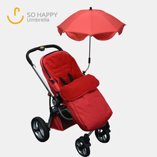 Portable Assembled Baby Stroller Parasol, Baby Stroller Clamp Umbrella