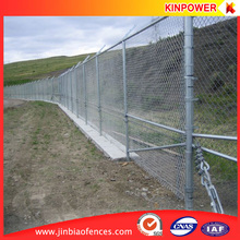 Alibaba Golden Supplier wholesale Galvanized cheap removable chain link fence