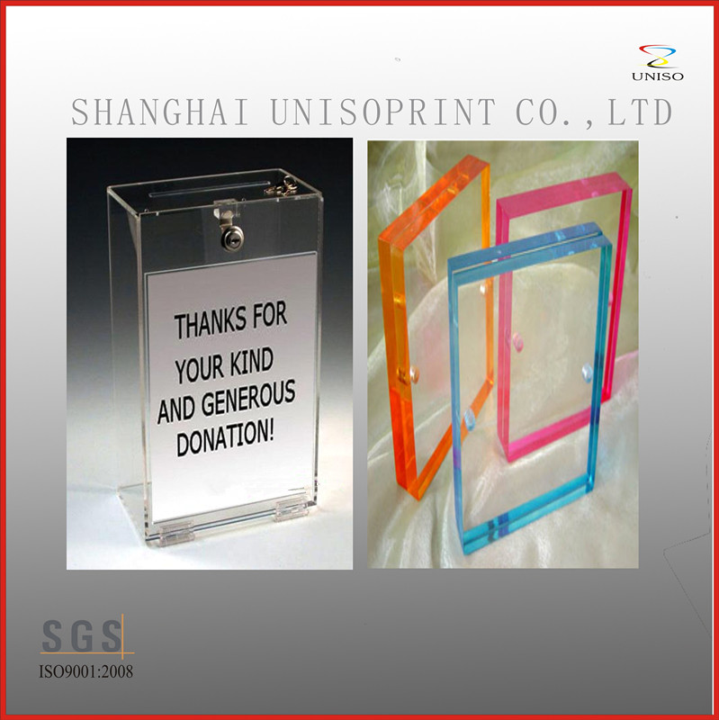 China manufacture custom acrylic display rack acrylic signs