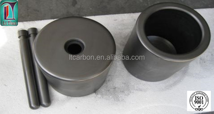 china supplier high pure cast iron crucible