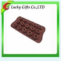 2014 Food Grade Large Circle Silicone Chocolate Mold
