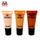 BPA free colorful cosmetic packaging plastic soft tube
