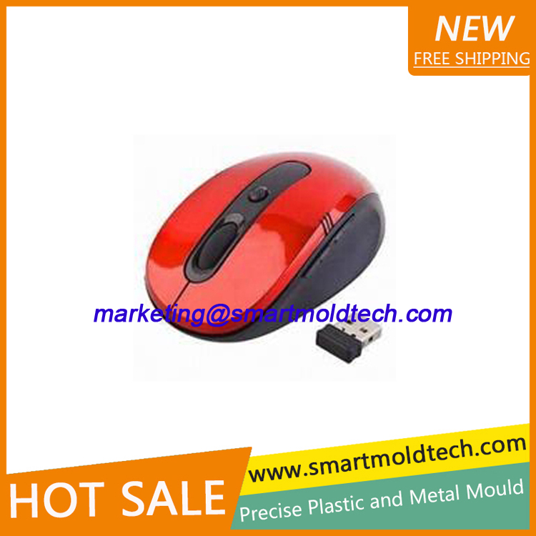 PE Material Plastic Injection Mold for Computer Mouse Shell
