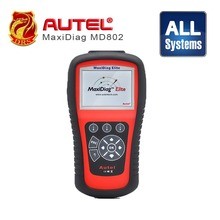 Autel Maxidiag Elite MD802 Diagnostic Tool For All systems Supports all 10 test modes