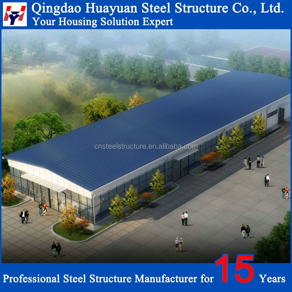 Low Cost Prefab Steel Structure Warehouse Drawings