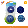 Colorful Plastic Scouring Cleaning Ball Colorful PP Scouring Ball For Kitchen With Card Packing
