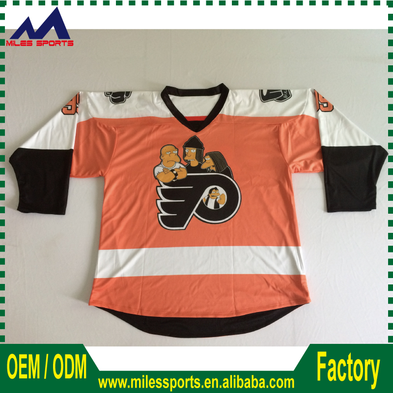 custom cheap canada sublimation ice hockey jersey no minimum