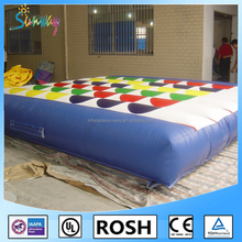 2016 Adult giant inflatable twister game,inflatable twister mattress,inflatable twister for sale