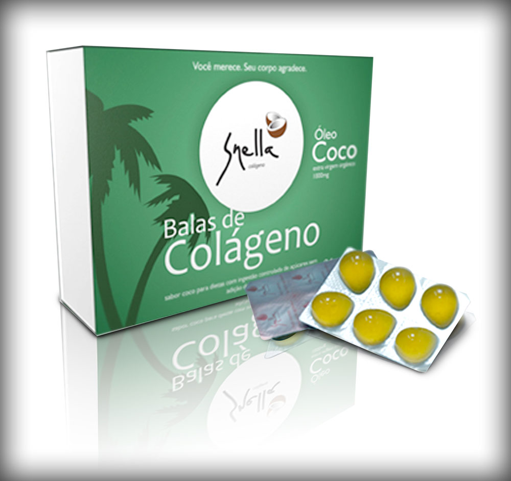 Coconut oil Candy with Colagen 172g - sugar free