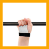 Advanced Leather Weight Lifting Straps with Flexible, Self-Support Grip Pad for Crossfit Training