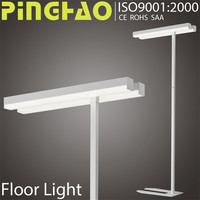 Aluminum material SAA 2x14w torchiere led floor lamps