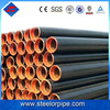 Best black steel seamless pipes sch40 astm a53 for gas and oil