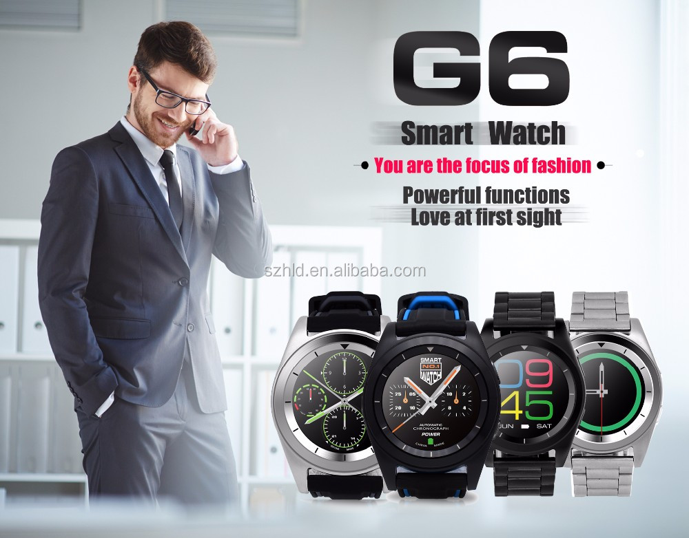 Cheapest price and high quality new design G6 smart watch