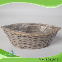 small baskets wholesale boat shaped