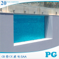 PG Clear Acrylic Panels for Swimming Pool