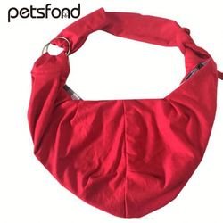 cotton pet sling carrier shoulder bag ,kyre outdoor travel polyester single shoulder bag