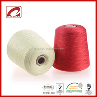 Melange polyester viscose fabric blended yarn