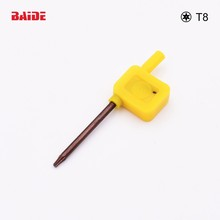 S2 Screwdriver T8 Yellow Flag Torx Key Screwdrivers Spanner Open Tools