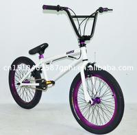Low MOQ hot sale 20 bmx/ freestyle bike with long service life