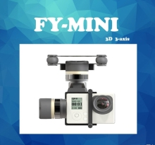 MINI 3D 3-Axis Brushless Gimbal/can be used on drone helicopter aircraft for gopro
