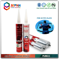 PU8611 American fast curing high performance adhesive one component windshield Polyurethane/PU Sealant adhesive 6 MPa