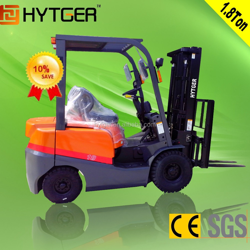 HYTGER brand hot sale Imported japanese engine 1.8ton diesel forklift tools