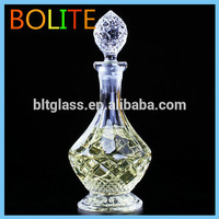 Glass liquorwine bottle decoration for home, bar, hotel
