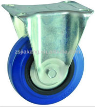 3 to 8 inch Industrial rubber wheel caster,rivet