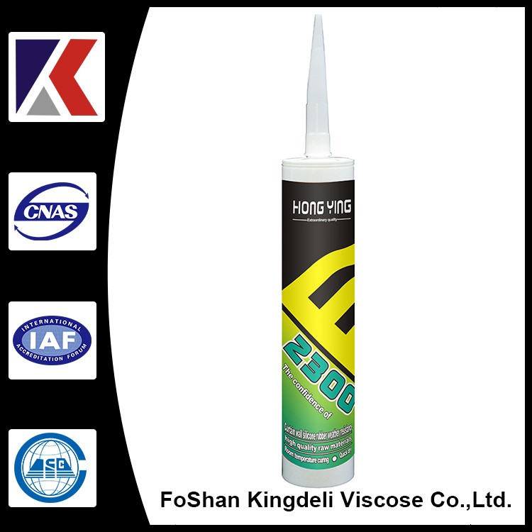 Weather-resistant silicone sealants excellent neutral 300ml caulking to glass, stone, concrete,tile, aluminim