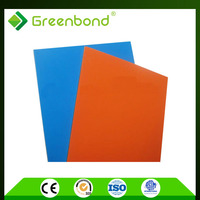 Greenbond golden/silver brushed covers for exterior walls Aluminum Composite Panels