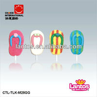LANTOS BRAND 28g marshmallow lollipop candy with competitive price