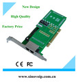 Factory price of PCI interface 2U class high 2xE1/T1 selectable Asterisk card