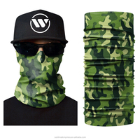 Hot Selling New Style Attractive Uv Protection Biker Headwear Bandana