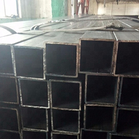 Square tube carbon steel pipe black hollow section carbon steel Q235 square metal tube