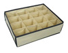 16 dividers socks storage boxes/underwear storage box
