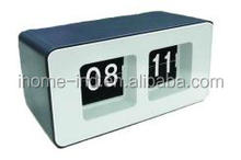 corporate gifts luxury desk clock flipping clock