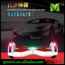 Led 8inch smart 2 wheel self balance scooter electric standing scooter electric scooter electric balance car