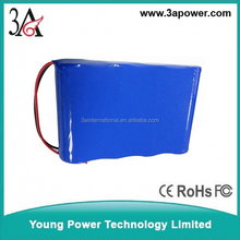 custom 1s3p 3.7v 4.2v 7800mah 7.8ah li-ion 18650 battery packs Rechargeable Electric boats lithium batteries