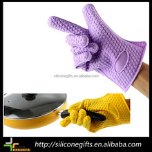Silicone Kitchen Glove Heat Resistant Oven Bbq Cooking Mitts Grill Gloves Bbq