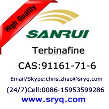 API of antifungal Terbinafine, High purity cas 91161-71-6 Terbinafine